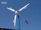 Elektrownia wiatrowa Flamingo Aero ® z aerodynamiczną regulacją ustawienia łopat