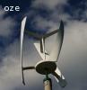 Przydomowa elektrownia wiatrowa VAWT,moc 2,5 kW, na żerdzi wirowanej E 12/15